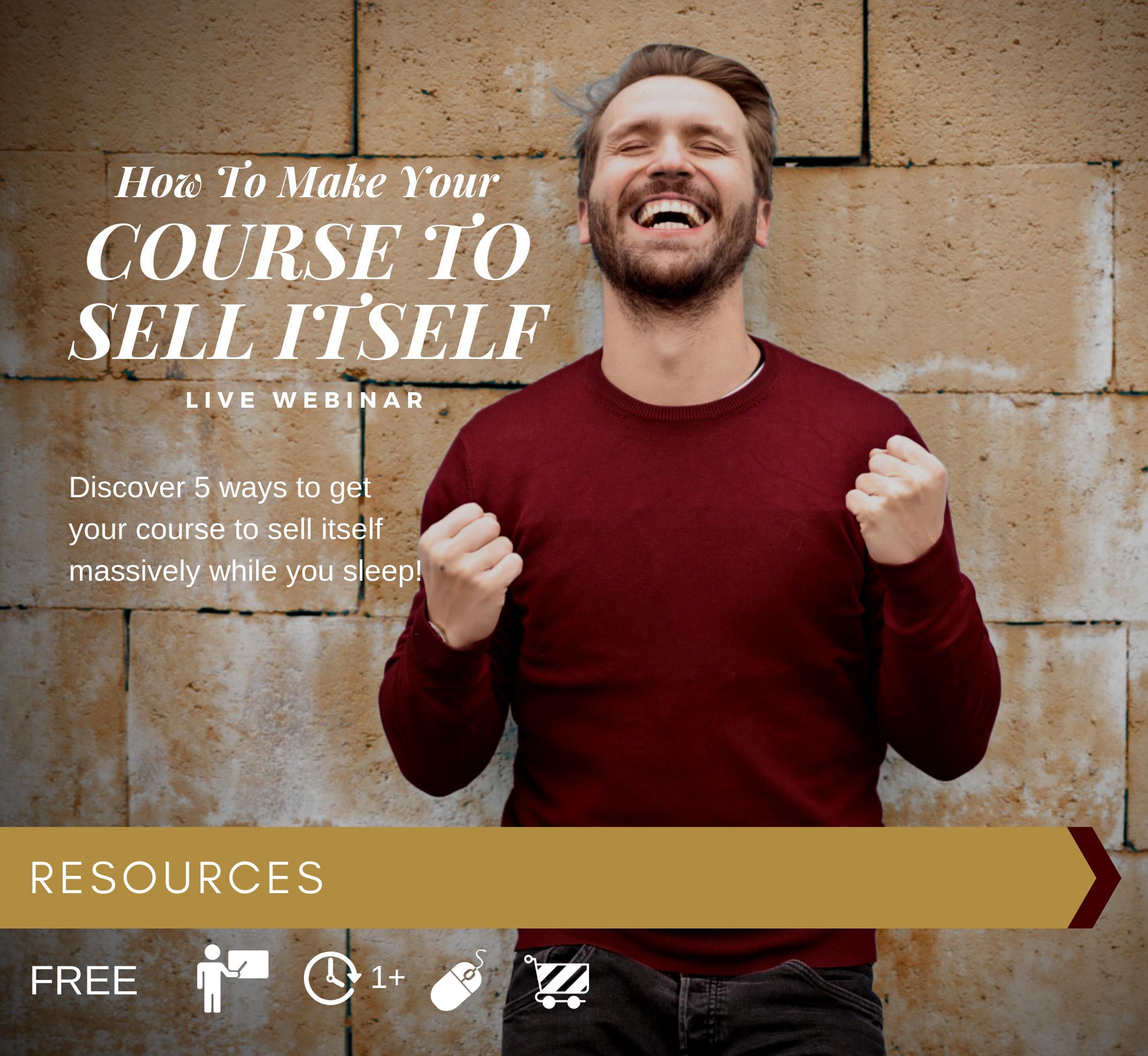 CourseSellItself-Webinar